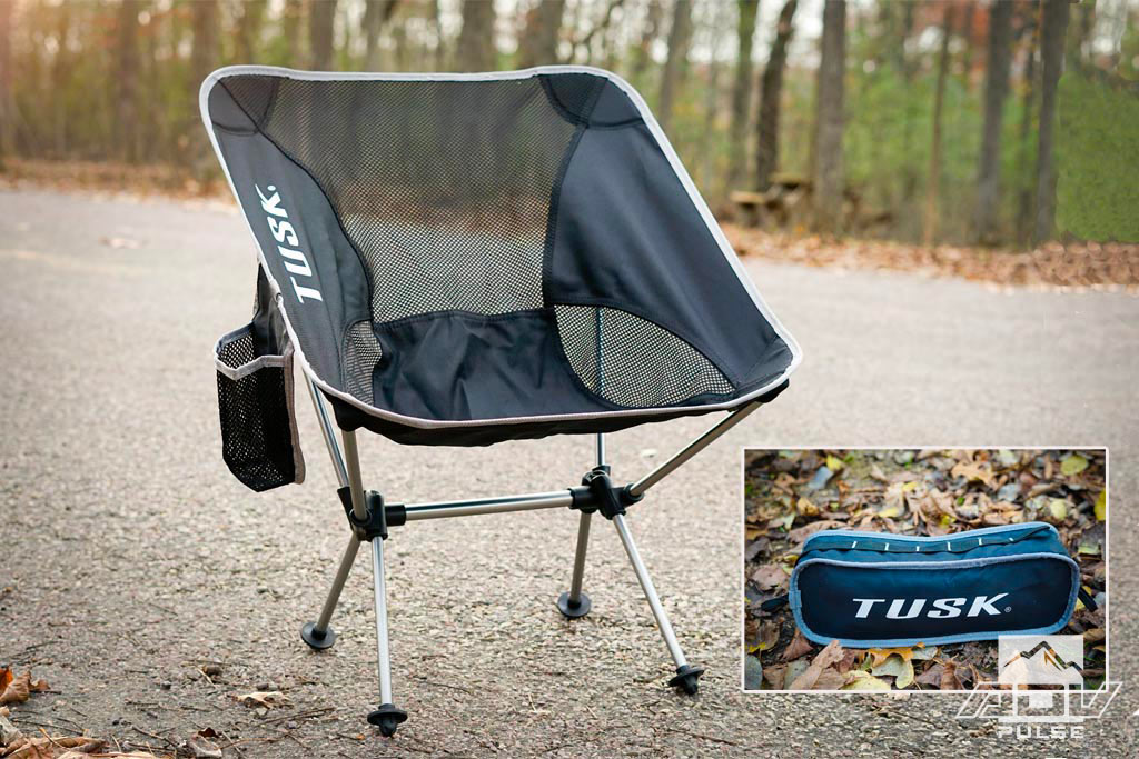 Tusk Camp Chair: Compact, Comfortable and Budget Friendly