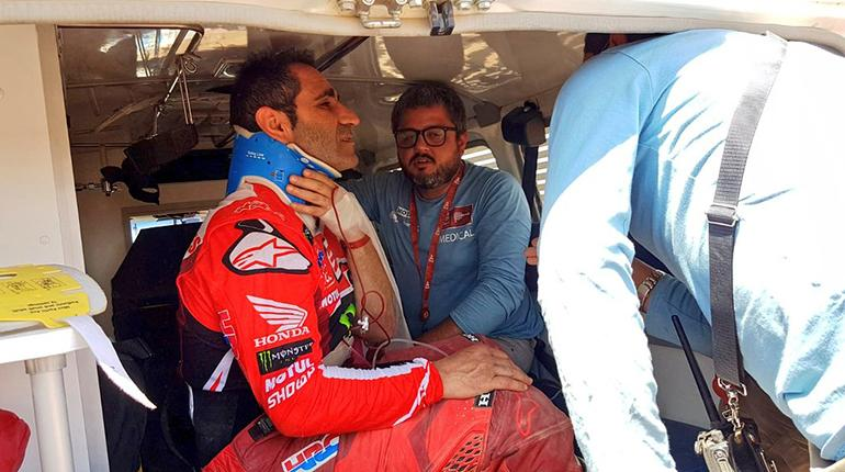 Paulo Gonçalves Dakar Rally