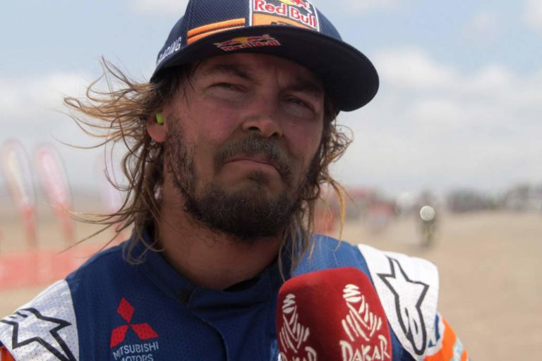 Toby Price Dakar Rally