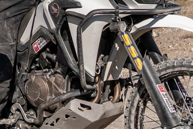 Camel ADV Honda Africa Twin Bike Build