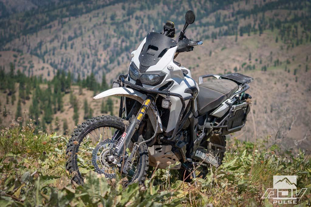 Camel ADV Honda Africa Twin Adventure Motorcycle