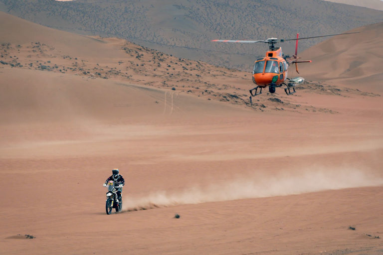 Chasing the Dakar on your Motorcycle