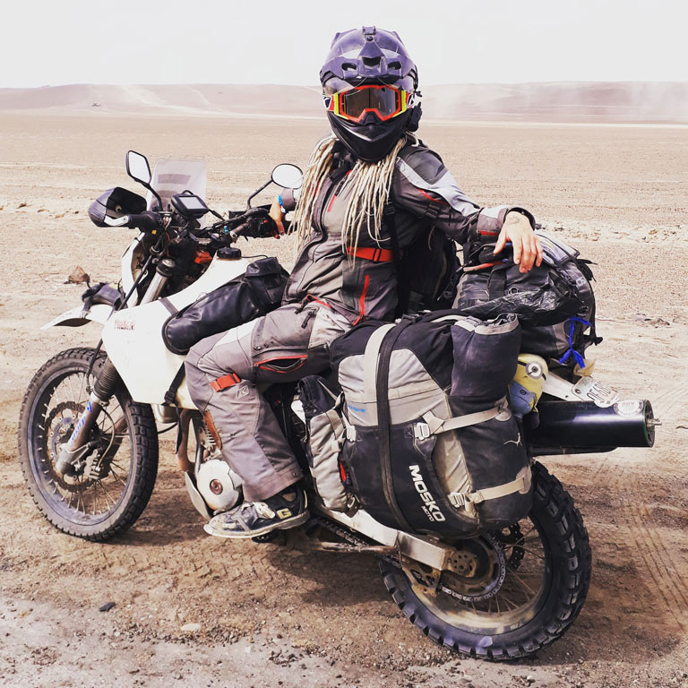 Chasing the Dakar on your own motorcycle
