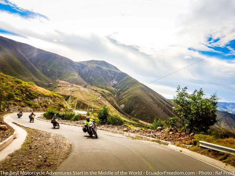 Ecuador Freedom Bike Rental Lap of Luxury Motorcycle Tour