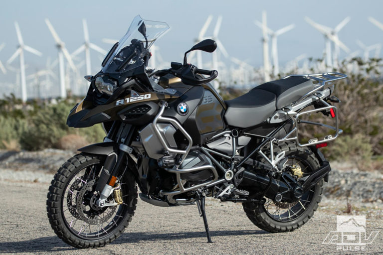 BMW R1250GSA Adventure Motorcycle