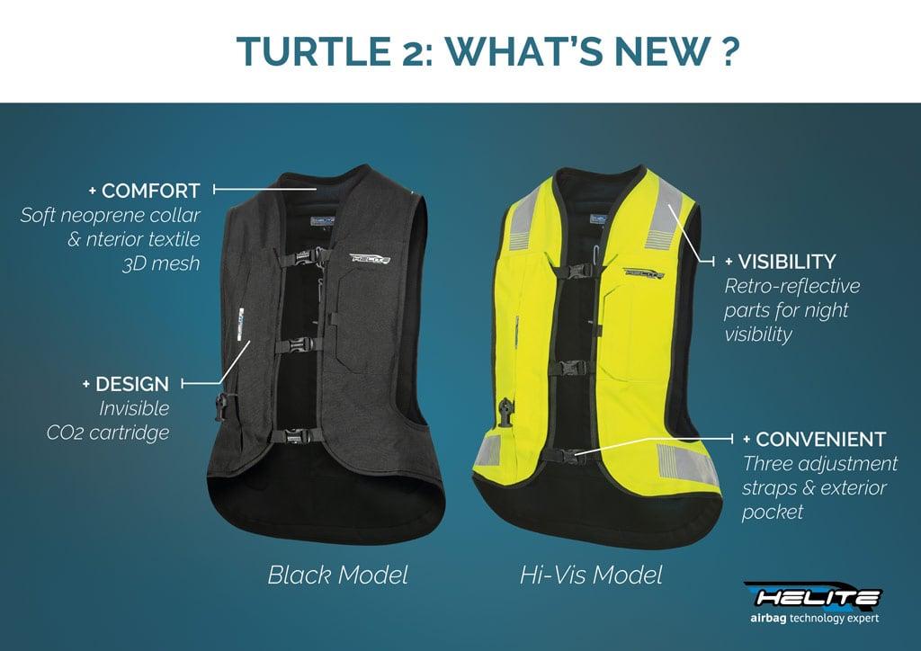 Helite Turtle 2 Airbag Vest