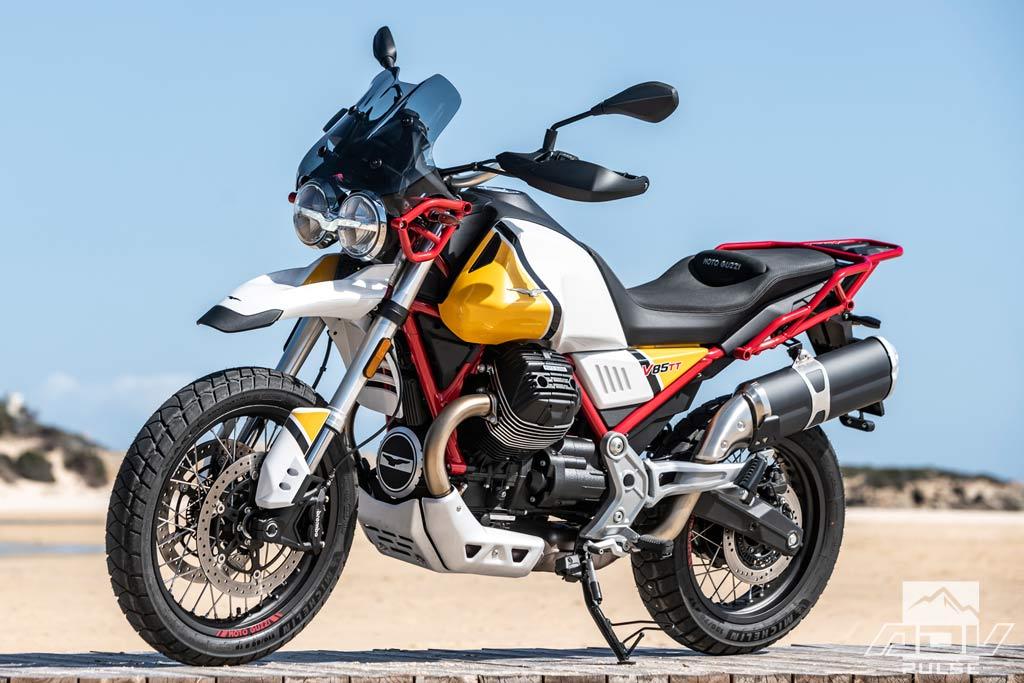Moto Guzzi V85 Tt First Ride Review Adv Pulse