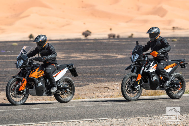 KTM 790 Adventure vs KTM Adventure R Motorcycle