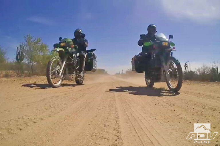 Devil's Road Baja Expedition on KLR650 Adventure Motorcycles