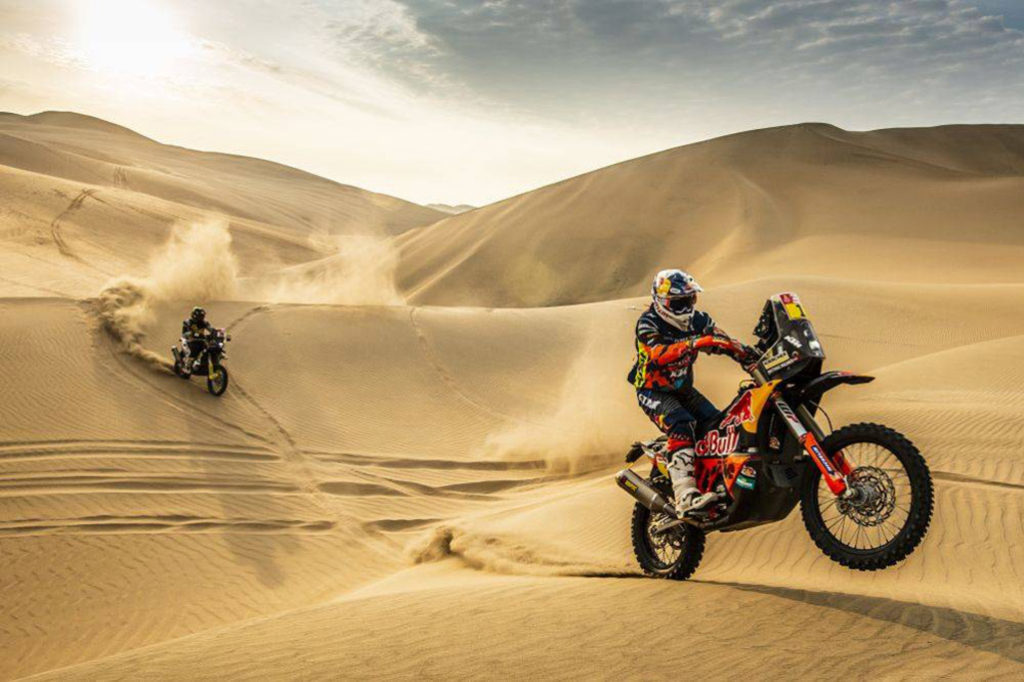 Dakar Rally motorcycle rules changed
