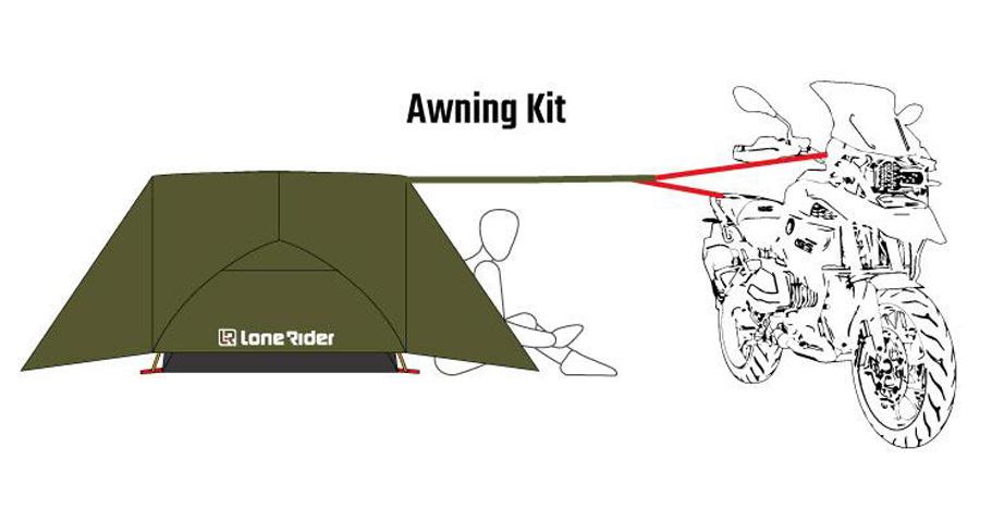 ADV Tent Awning Kit