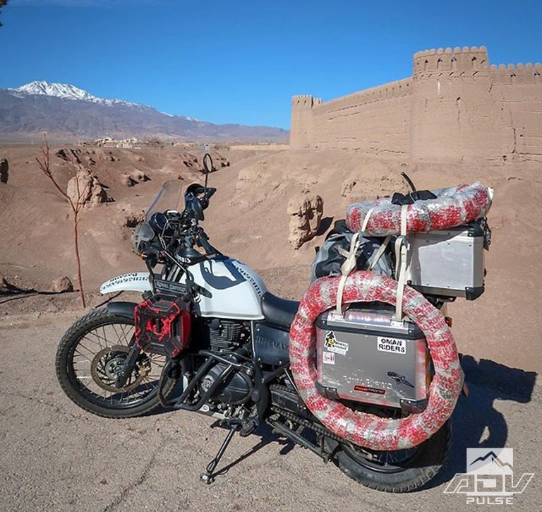 Riding the world on a Royal Enfield Himalayan