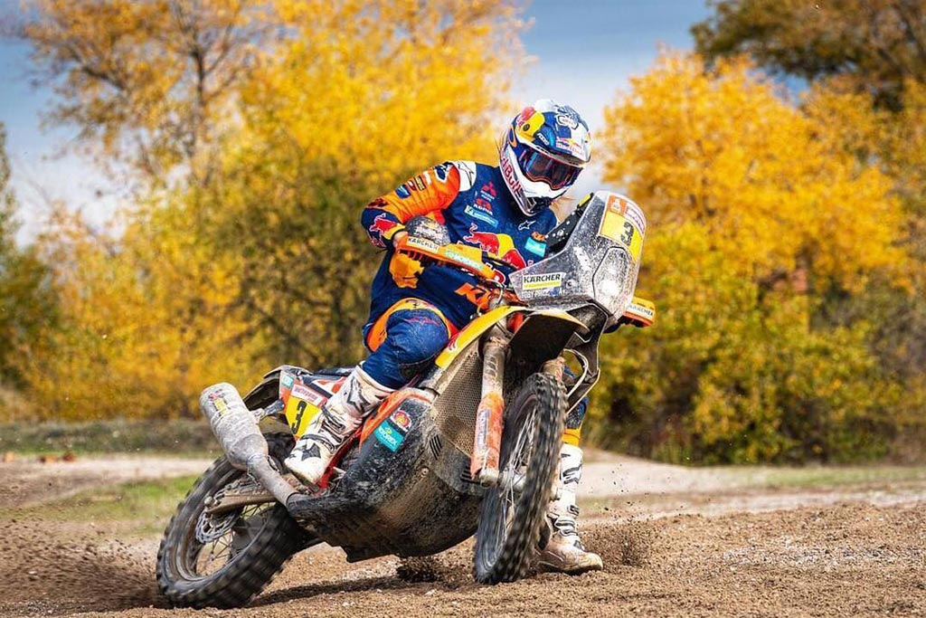 Toby Price Dakar 2019 champion