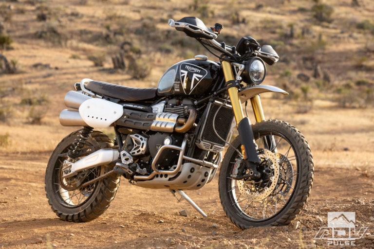 Triumph Scrambler 12000 XE Adventure Motorcycle