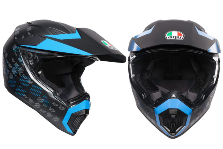 AGV AX-9 Adventure Motorcycle Helmet
