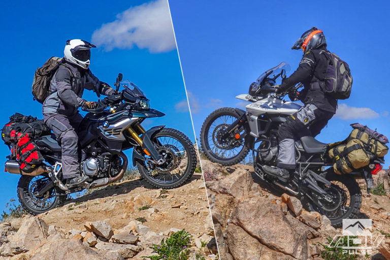Adventure Motorcycle Comparo BMW F850GS and Triumph Tiger 800 XCA