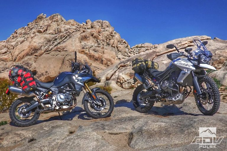 Adventure Motorcycle Comparo BMW F850GS vs Triumph Tiger 800