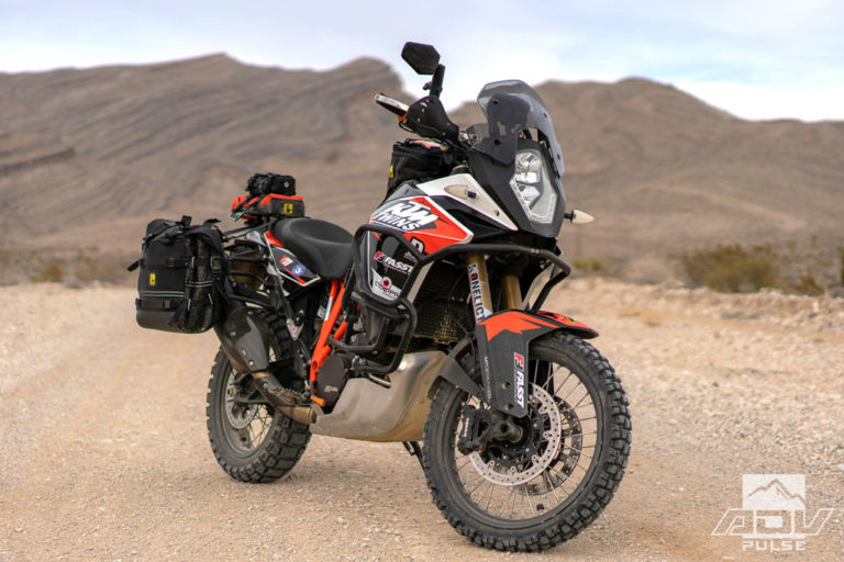KTM 1090 Adventure Motorcycle Build