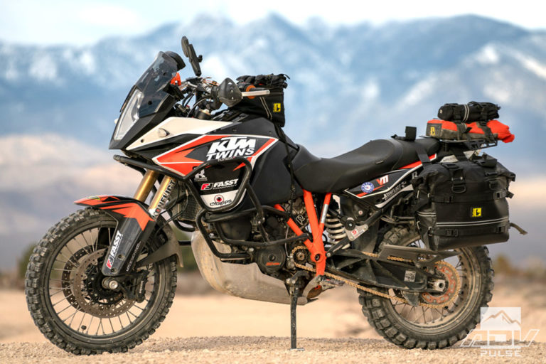 KTM 1090 Adventure Bike Build