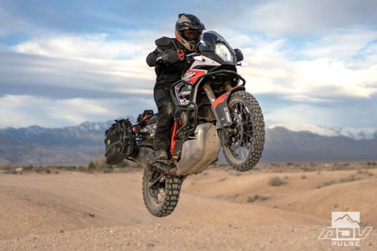 KTM 1090 Adventure Motorcycle Build - suspension