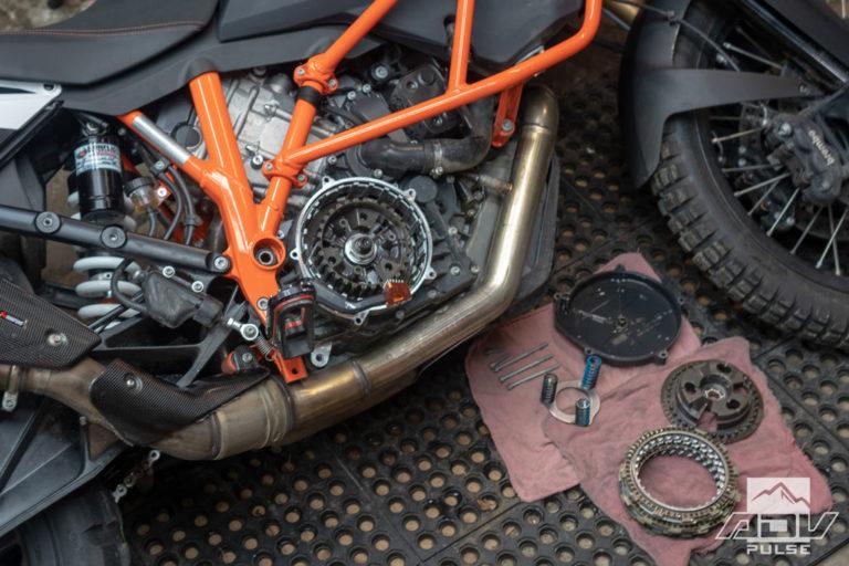 Bike Build - rekluse clutch