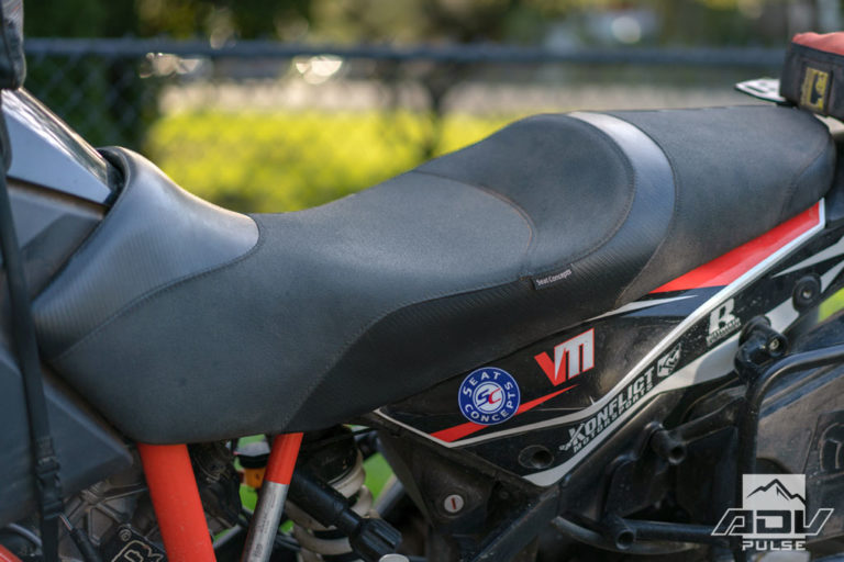 KTM 1090 Adventure Build - seat