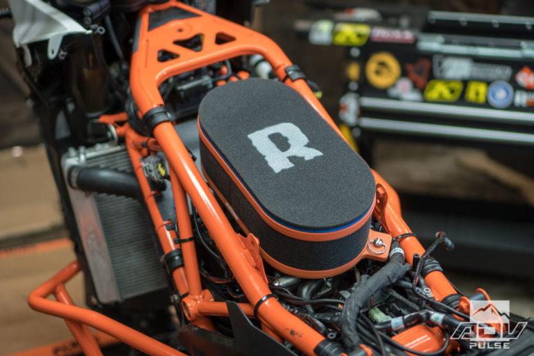Adventure Motorcycle Build - performance intake