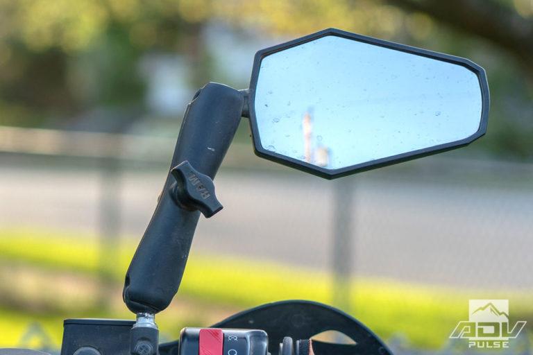 KTM 1090 Adventure Motorcycle Build  - dual sport mirrors