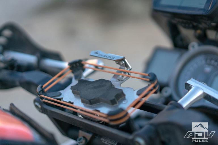 KTM 1090 Adventure Build - iphone mount