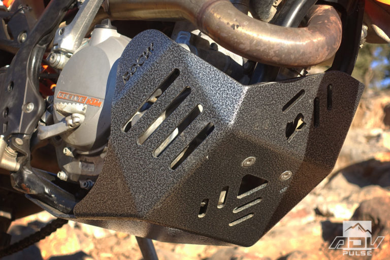 Black Dog skid plate for KTM 500 EXC
