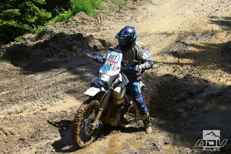 Rally Racing on an Adventure Bike
