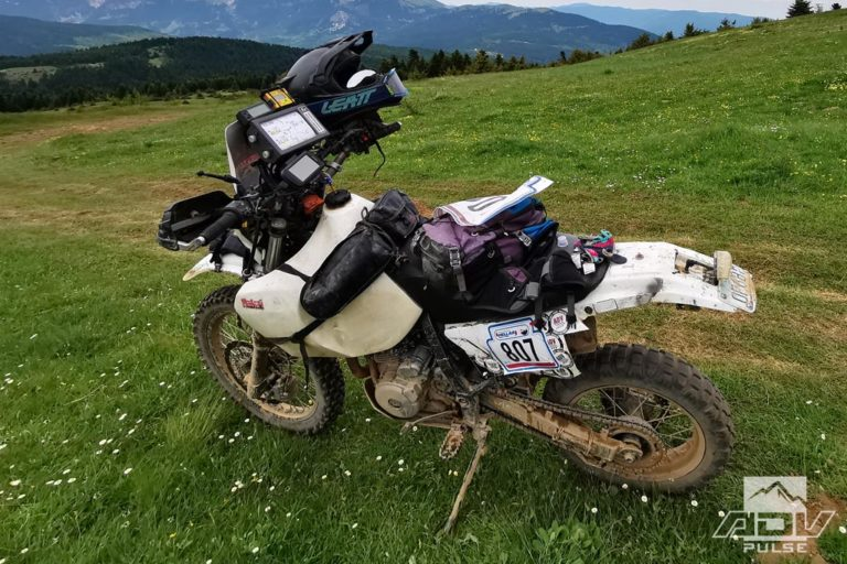 Rally Racing on Suzuki DR650