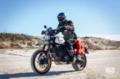 Rider Becomes Youngest to Circle the Globe Solo on a Motorcycle