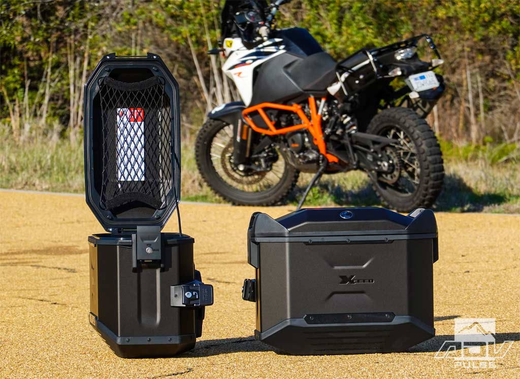 Hepco & Becker Xceed Panniers for KTM 1090 Adventure