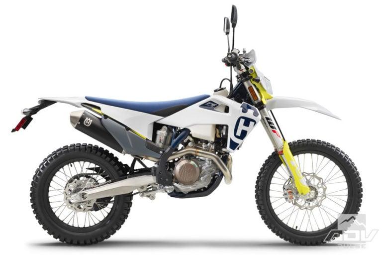Husqvarna Dual Sport Motorcycle