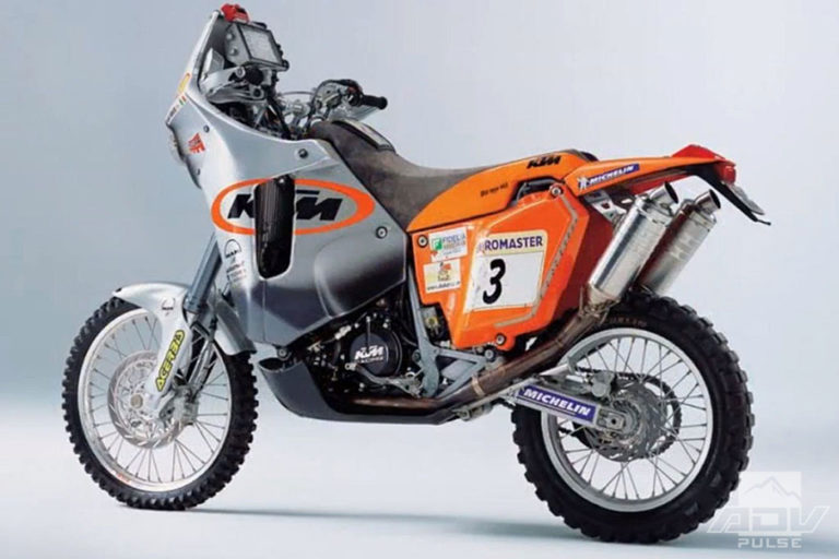 KTM sales success began with the 660 Rally