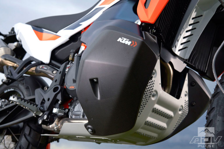 KTM 790 Adventure R Rally Limited Edition Skid Plate