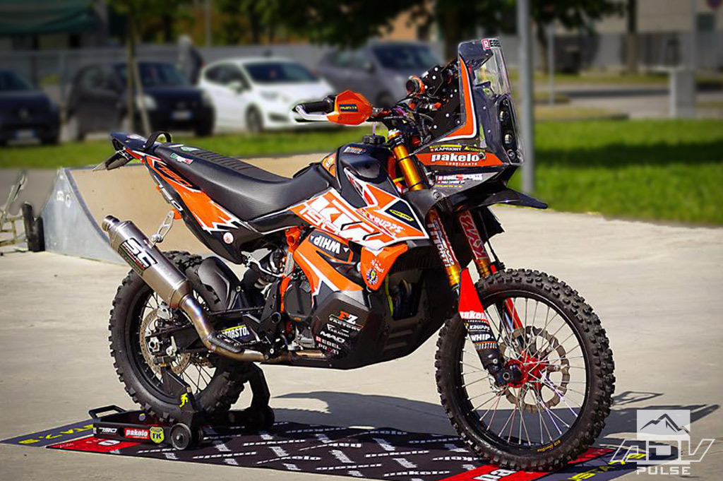 New Rally Kit for the KTM 790 Adventure is Coming