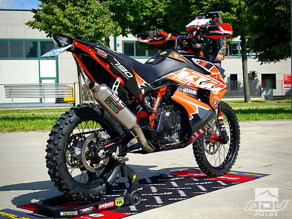 KTM 790 Adventure Rally Kit by Rebel X Sports