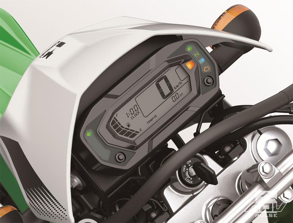 Kawasaki KLX230 Instrumentation