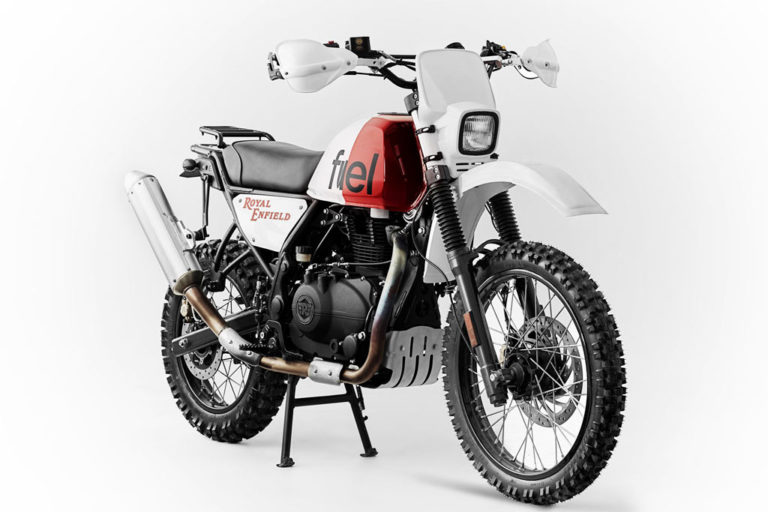 Royal Enfield Paris-Dakar-Inspired Himalayan Build