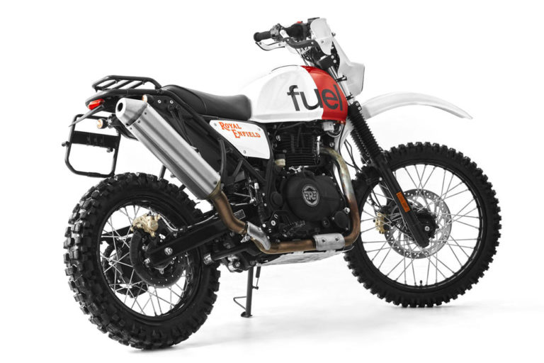 Royal Rally 400 inspired by the Paris-Dakar Rally Bikes of yore
