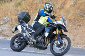 Spy Shots Show Revamped Triumph Tiger 800 for 2020, Now 900cc?