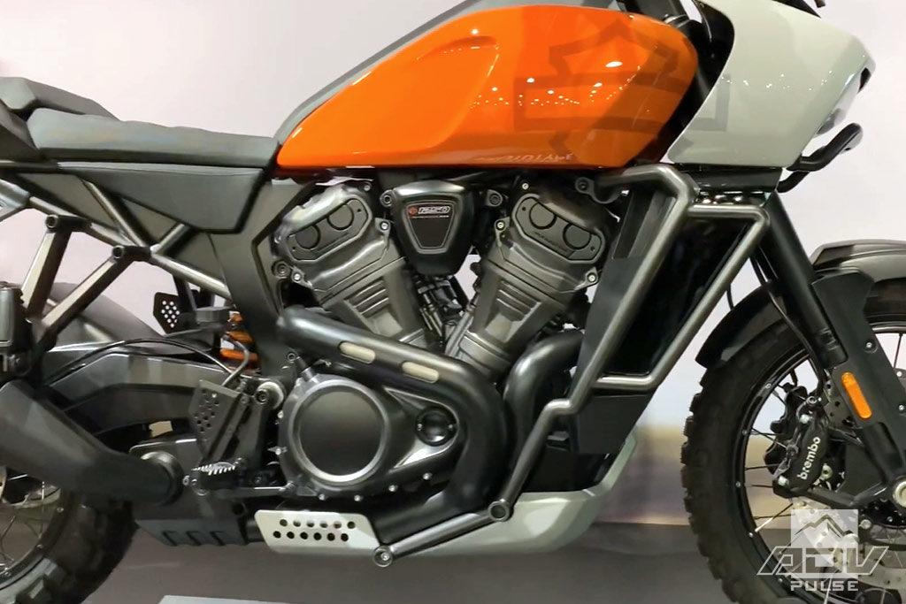 Harley Davidson Pan America Adventure Bike engine