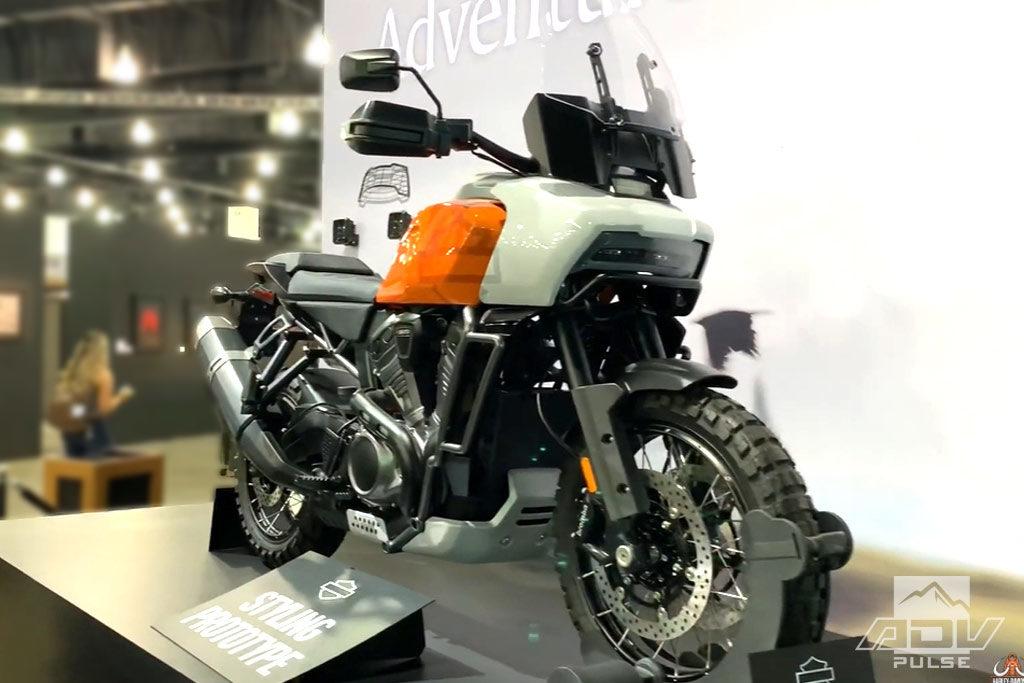 Harley Davidson Pan America Adventure Bike