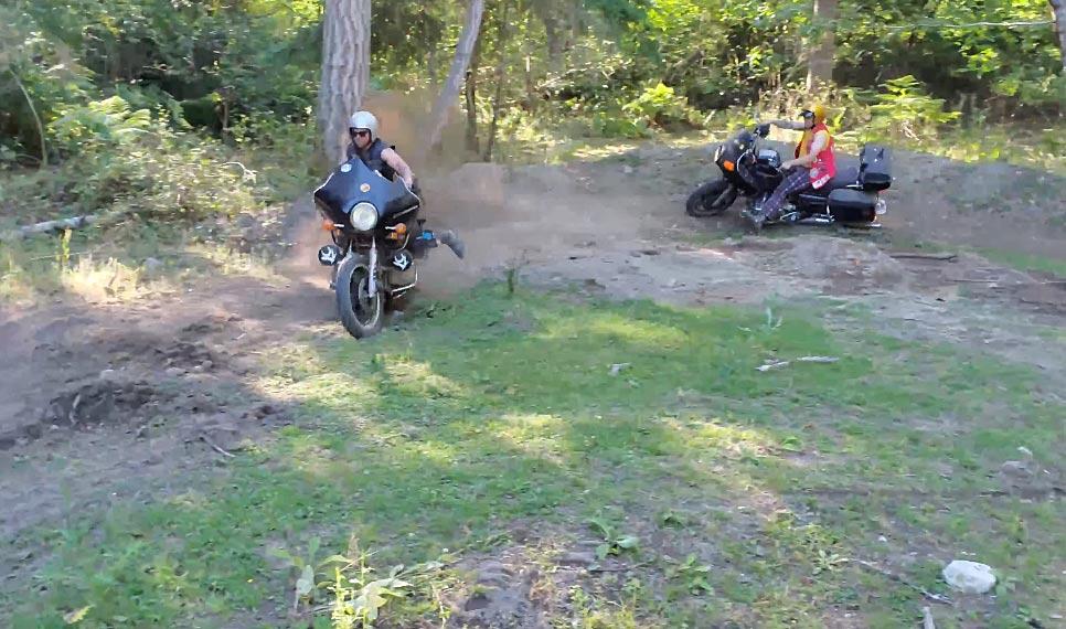 Honda Gold Wing motocross