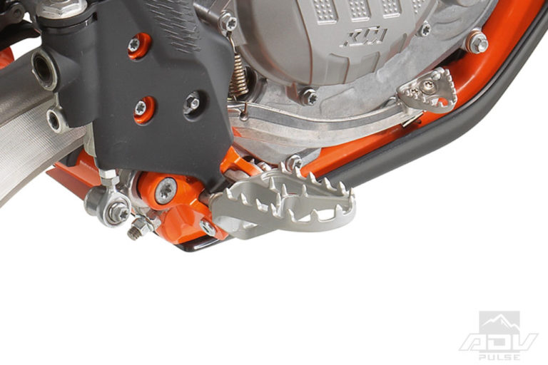 KTM 500 EXC-F Six Days footpegs