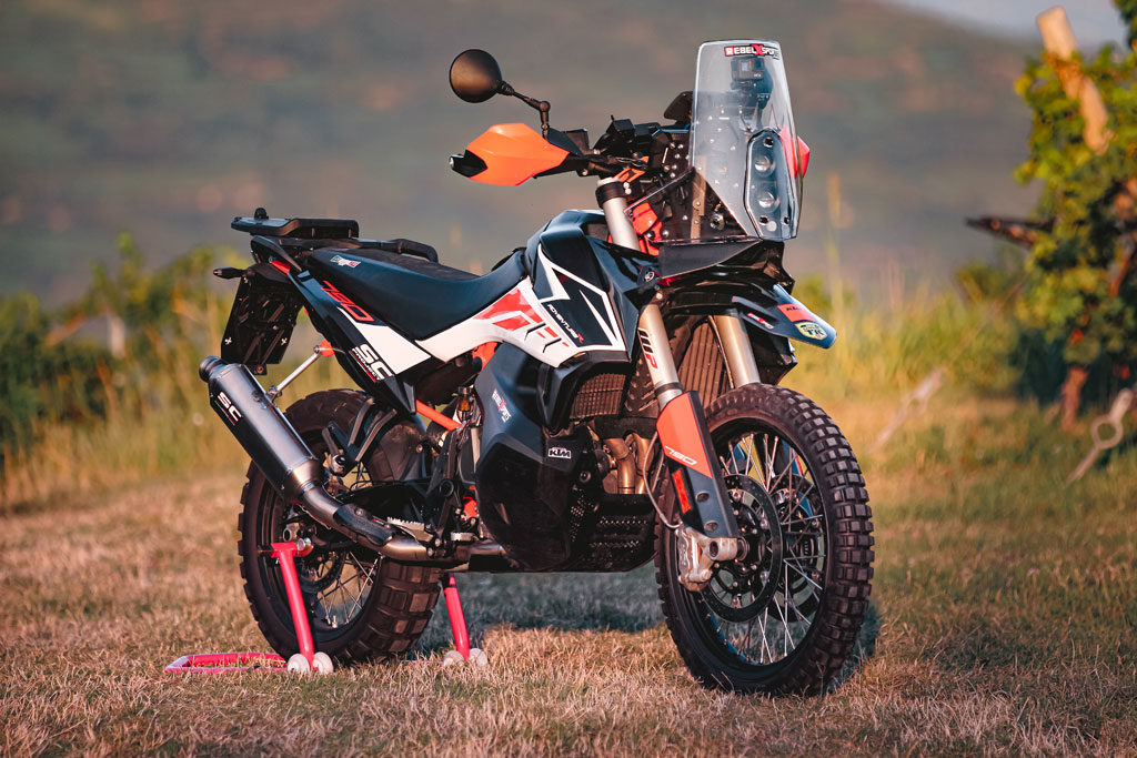 Rebel X Sports KTM 790 Adventure Rally Kit Right Side