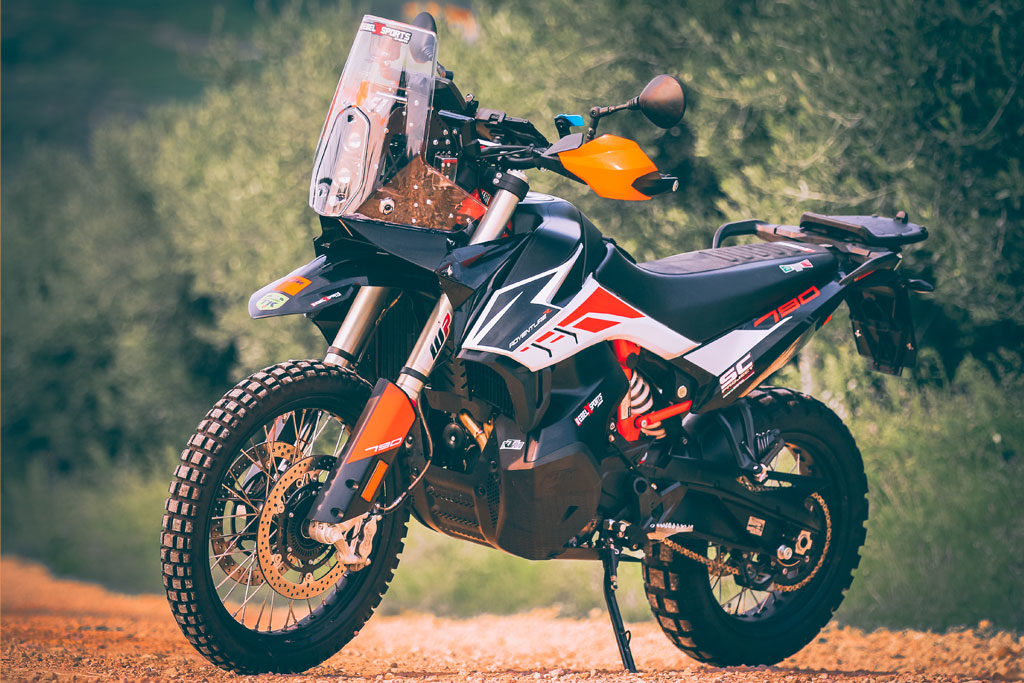 Rebel X Sports KTM 790 Adventure Rally Kit Left Side