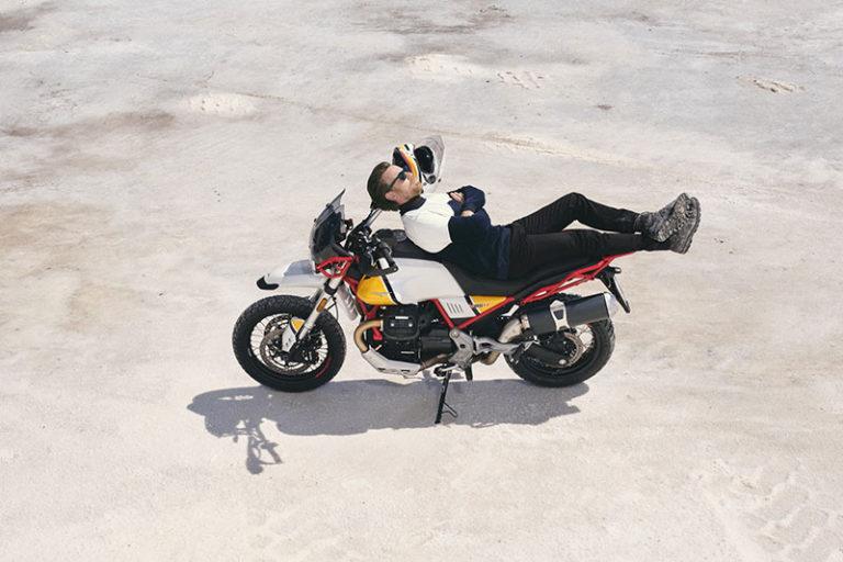 Ewan McGregor Ambassador for Moto Guzzi V85 TT